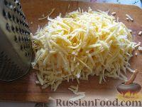 Фото приготовления рецепта: Куриное филе под сырно-яичным соусом - шаг №5
