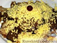 Фото к рецепту: Печень с яйцом