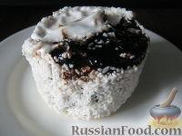 """Фото к рецепту: Пирожное """"День и ночь"""""""