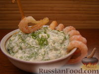 Фото к рецепту: Соус для креветок