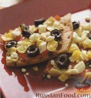 Фото к рецепту: Средиземноморская пицца