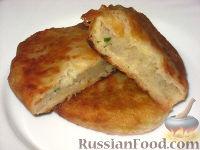 Фото к рецепту: Жареные пирожки с картофелем