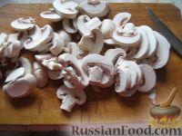 Фото приготовления рецепта: Грибы, запеченные в сметане - шаг №3