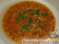 Фото к рецепту: Суп Харчо из говядины