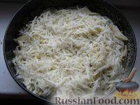 Фото приготовления рецепта: Макаронник с грибами - шаг №6
