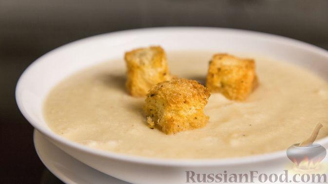 Фото к рецепту: Крем-суп из цветной капусты с сыром