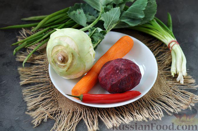 Фото приготовления рецепта: Корейский салат - шаг №1