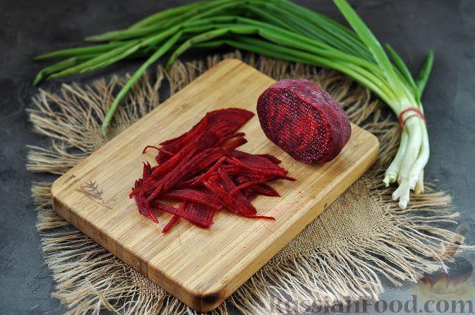 Фото приготовления рецепта: Корейский салат - шаг №4