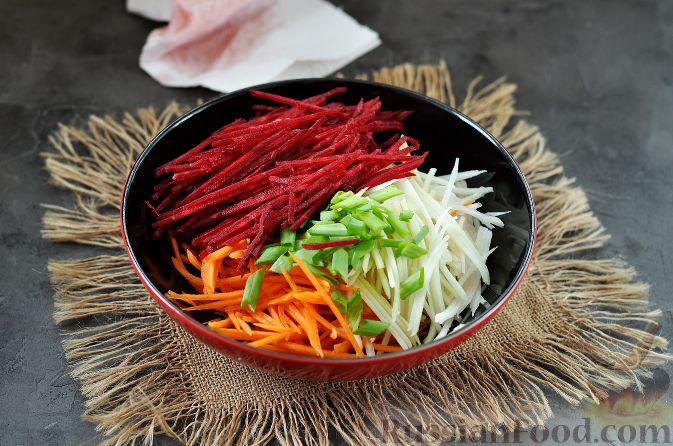 Фото приготовления рецепта: Корейский салат - шаг №7