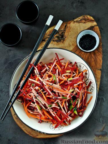 Фото приготовления рецепта: Корейский салат - шаг №9