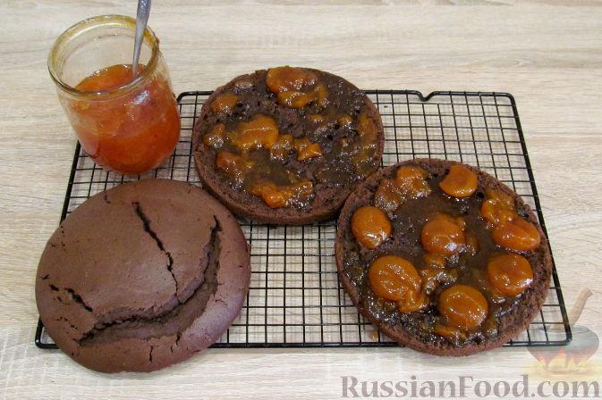 Фото приготовления рецепта: Куриная печень с грибами и помидорами, в микроволновке - шаг №19