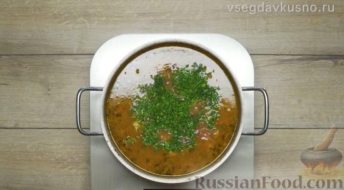 Фото приготовления рецепта: Рассольник - шаг №19