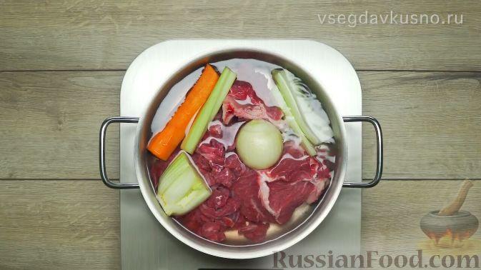 Фото приготовления рецепта: Рассольник - шаг №1