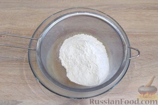 Фото приготовления рецепта: Рагу с картофелем, фасолью и тефтелями, тушенными с грибами и вином - шаг №2
