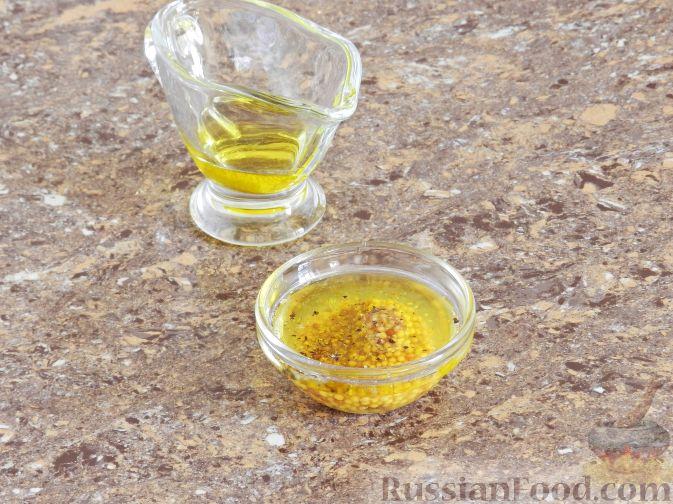 Фото приготовления рецепта: Салат с соленой горбушей - шаг №2
