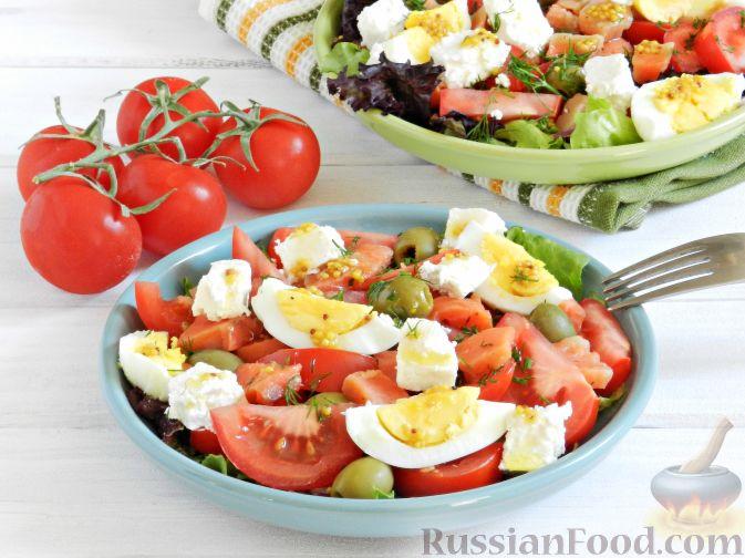 Фото к рецепту: Салат с соленой горбушей
