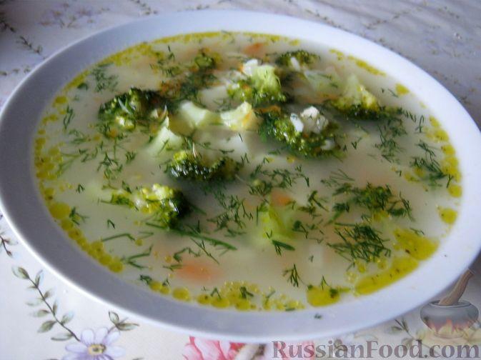 Рецепт Суп овощной с капустой брокколи