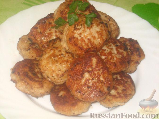 Рецепт Котлеты домашние из курицы