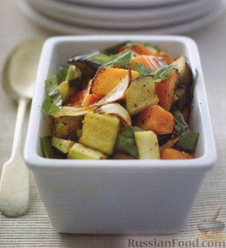 Рецепт Овощное соте с тыквой