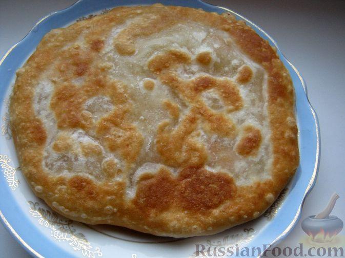 Рецепт Плачинды из постного заварного теста с картошкой