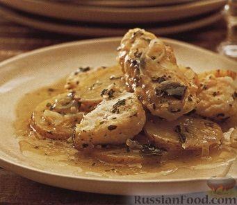 Рецепт Картофель, запеченный с угрем