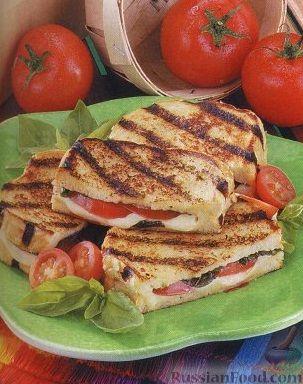 Рецепт Итальянские бутерброды