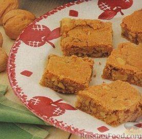 Рецепт Яблочно-коричные коржики с орехами