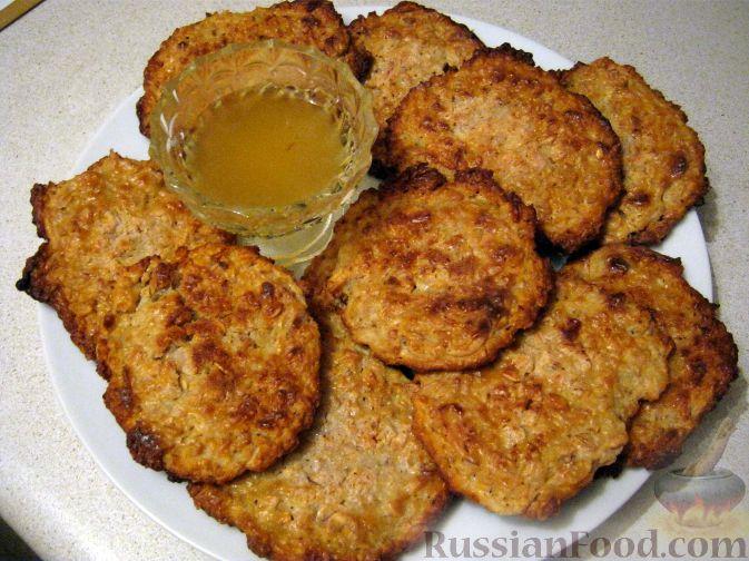 Рецепт Печенье овсяное с творогом