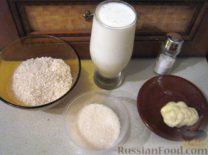 рецепт приготовления рисовой каши с молоком