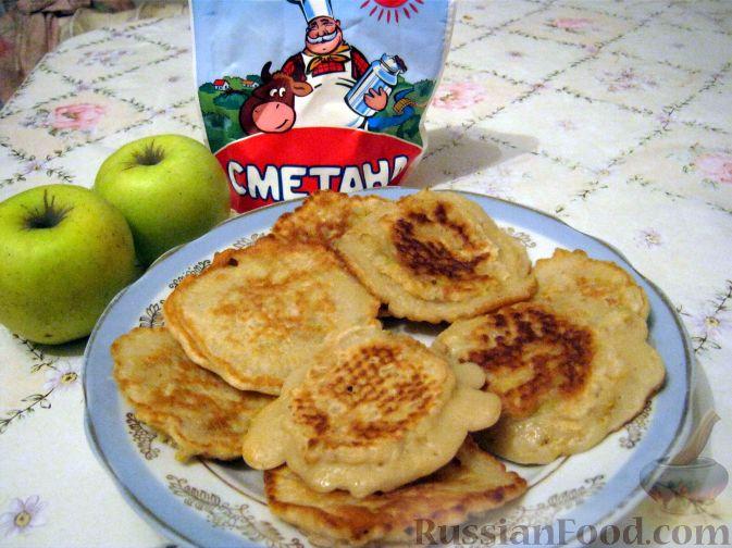 Рецепт Оладушки яблочные