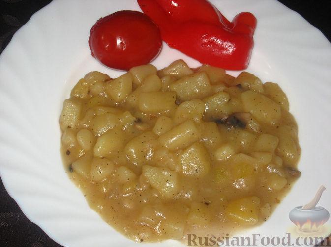 Рецепт Картофельный соус с грибами
