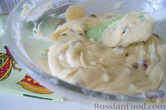 Фото приготовления рецепта: Быстрый рождественский кекс - шаг №5