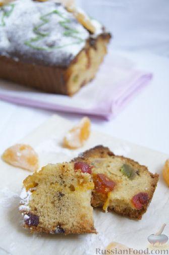 Фото приготовления рецепта: Быстрый рождественский кекс - шаг №8
