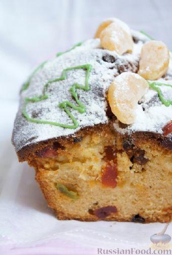 Фото приготовления рецепта: Быстрый рождественский кекс - шаг №9