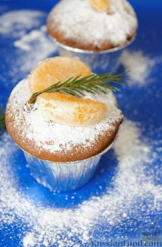 Фото приготовления рецепта: Быстрый рождественский кекс - шаг №11