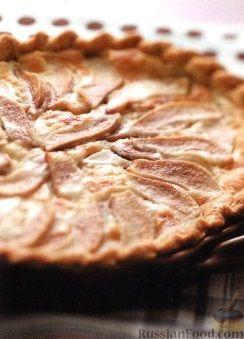 Рецепт Пирог из песочного теста с грушами