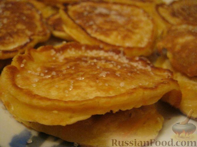 Рецепт Оладьи с морковью