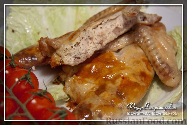Рецепт Фаршированная куриная шейка. Гефилте гелзеле