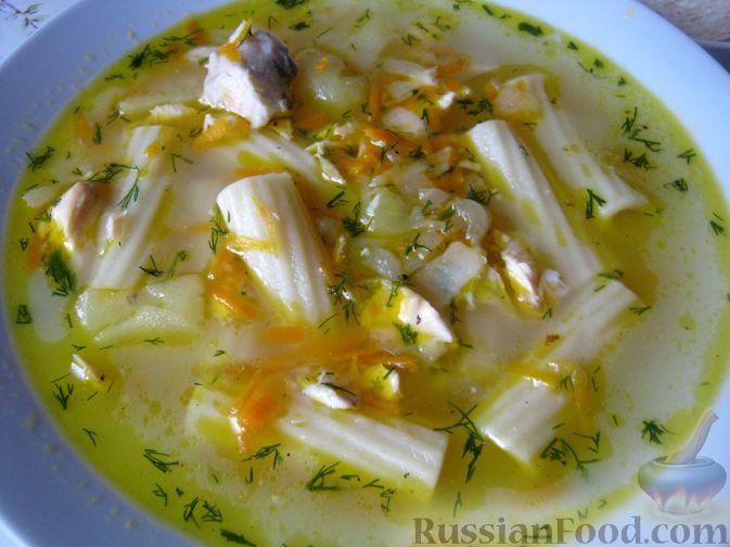 Рецепт Рыбный суп из лосося