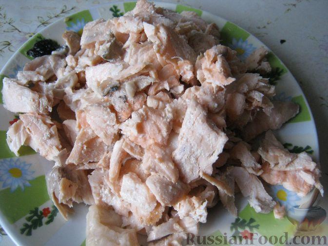 Фото приготовления рецепта: Морковно-яблочные оладьи с пшеном и манкой - шаг №9