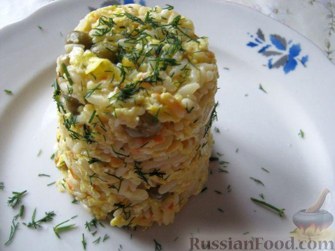 Рецепт Запеканка рисовая с овощами