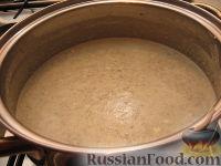 Фото приготовления рецепта: Суп-пюре из шампиньонов - шаг №8