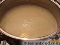 Фото приготовления рецепта: Суп-пюре из шампиньонов - шаг №14