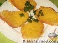 Фото к рецепту: Гренки с сыром за 5 минут