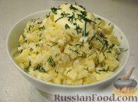 Фото к рецепту: Салат из яблок и сельдерея