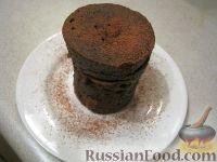 Фото к рецепту: Кекс в микроволновке
