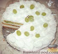 "Фото к рецепту: Торт ""Виноградинка"""