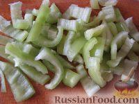 Фото приготовления рецепта: Рагу из баклажанов постное - шаг №3
