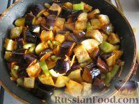 Фото приготовления рецепта: Рагу из баклажанов постное - шаг №6