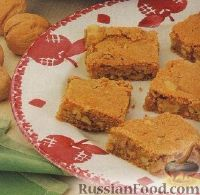 Фото к рецепту: Яблочно-коричные коржики с орехами